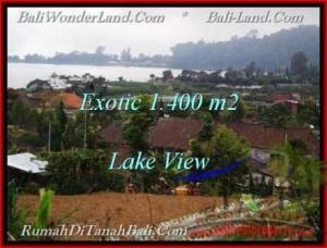 TANAH di TABANAN JUAL 1,400 m2  View Danau Beratan dan Gunung