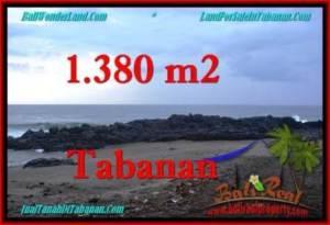 DIJUAL TANAH di TABANAN BALI Untuk INVESTASI TJTB270