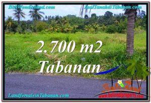 INVESTASI PROPERTI, DIJUAL TANAH di TABANAN BALI TJTB301