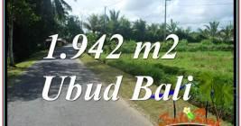 TANAH DIJUAL MURAH di UBUD BALI Untuk INVESTASI TJUB626