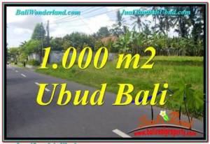 DIJUAL MURAH TANAH di UBUD BALI 10 Are di Sentral / Ubud Center
