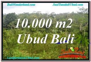 TANAH di UBUD BALI DIJUAL MURAH 10,500 m2 di UBUD TAMPAK SIRING