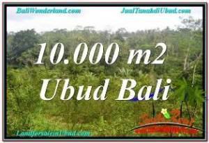 TANAH MURAH JUAL di UBUD BALI 10,500 m2  VIEW SUNGAI DAN TEBING