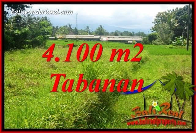 Tanah Murah Dijual di Tabanan Bali 4,100 m2 di Tabanan Penebel