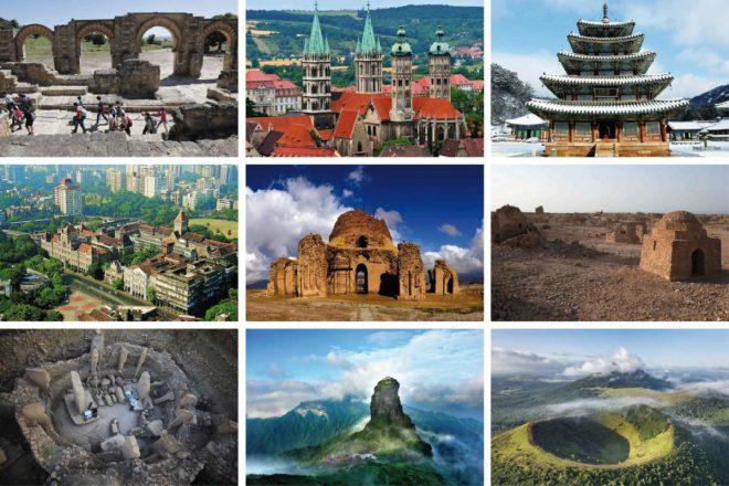 Curiosidades del mundo, Los nuevos lugares del Patrimonio Mundial