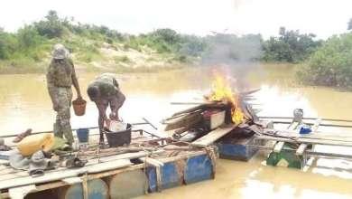 Galamsey-burnt-equipment