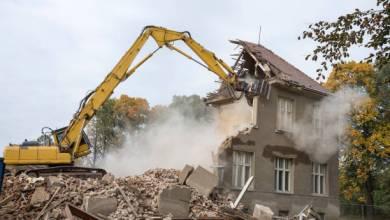Demolishing