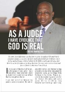 Late Justice Marful-Sau's testimony