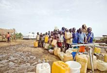 shortage of potable water