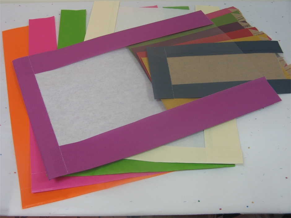 מעטפות לאריזה עם חלון