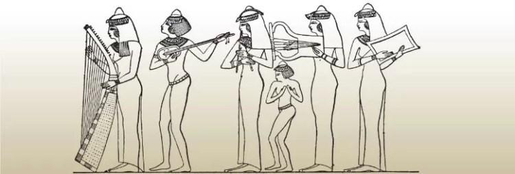 İlk Çağda Müzik Anlayışı 3 – Mısır uygarlığında çalgılar