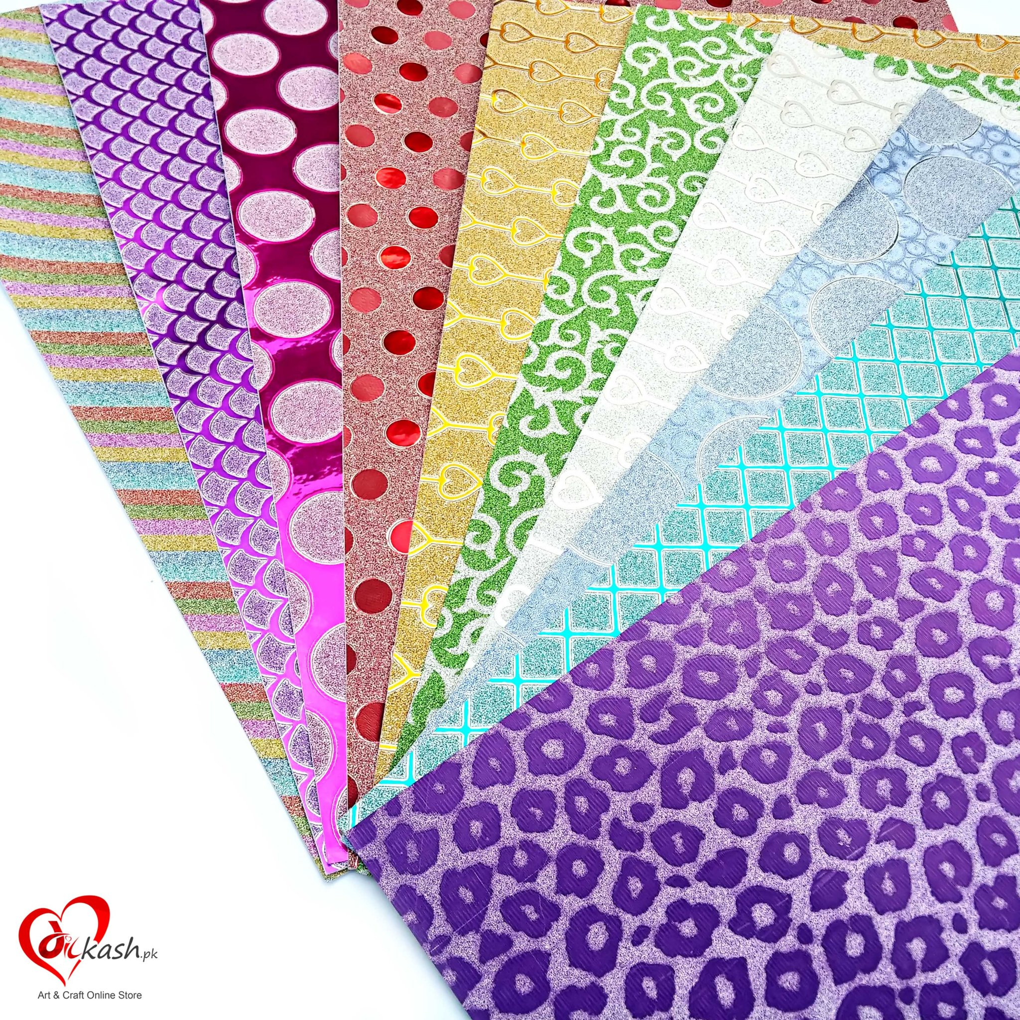 Book Cover Paper Quilling : Sheets a sparkling glitter sticker art craft