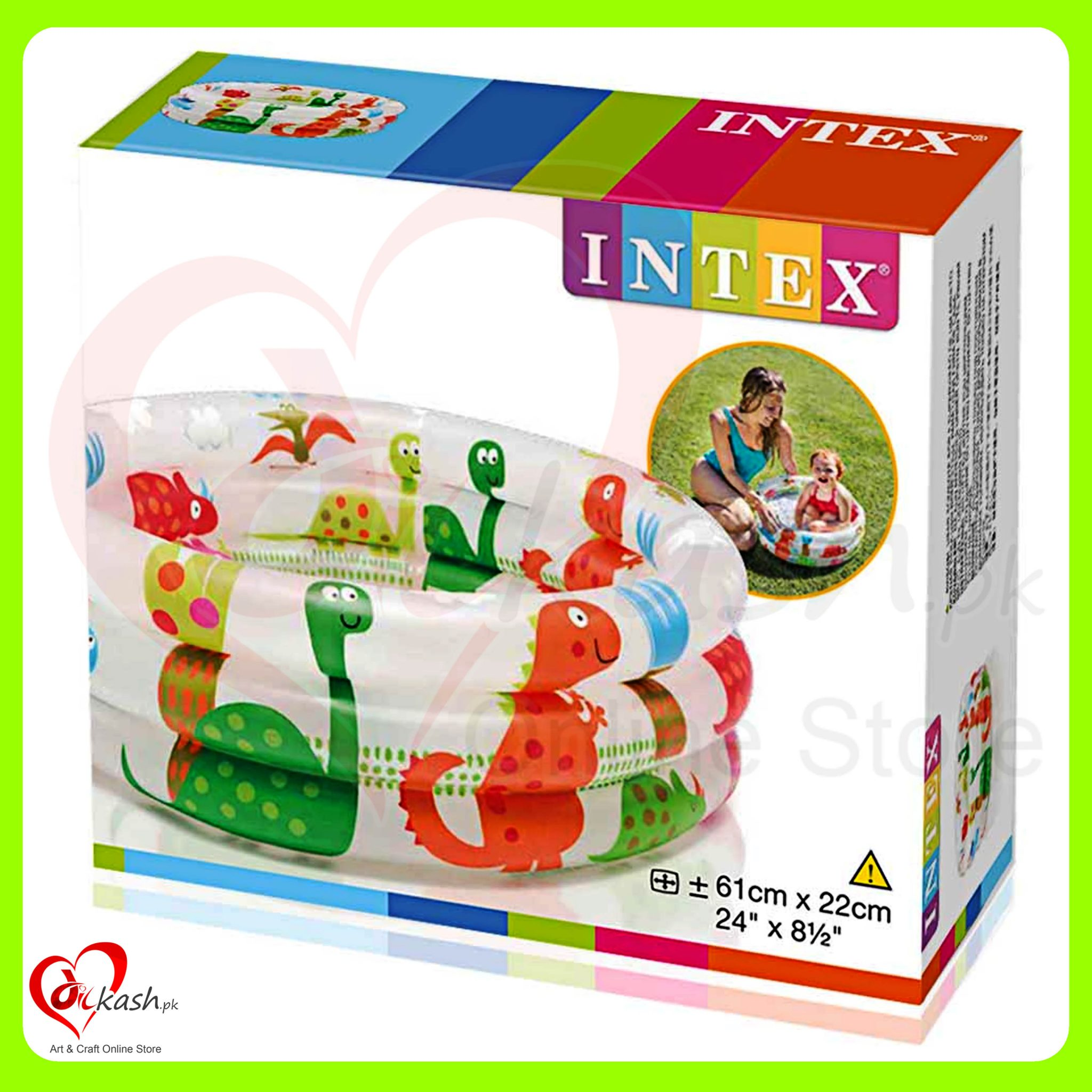 Kids Swimming Pools - 2 Feet - INTEX 57106NP- 6941057403090