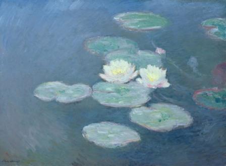 Claude Monet  Nymphéas. Effet du soir, 1897 c.  Huile sur toile, 73 x 100 cm  Paris, Musée Marmottan Monet (Inv. 5167)  Rif. Bridgeman MMT 154665