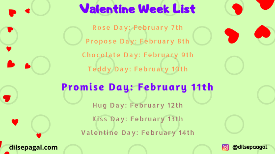 promise day date