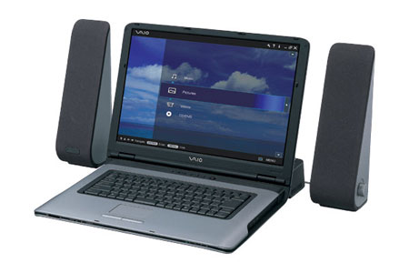 Sony Vaio A39 laptop