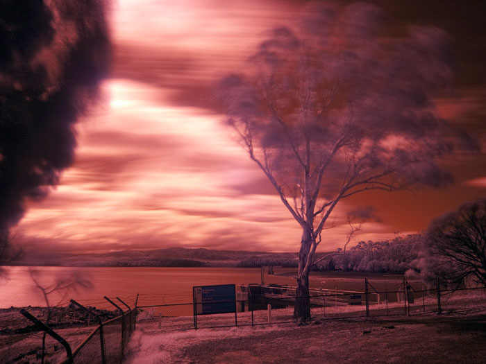 Lumix G1 infrared photography