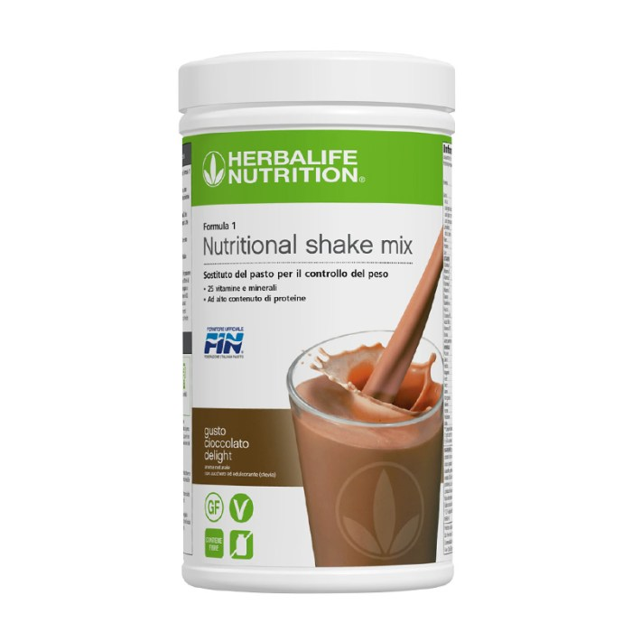 Herbalife Formula 1 gusto cioccolato delight
