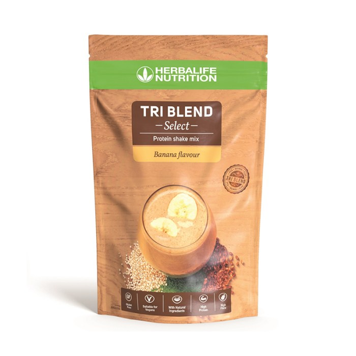 Herbalife tri blend select gusto banana
