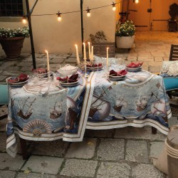 Tovaglia Lino Bounty Tessitura Toscana Telerie