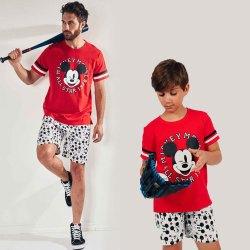 Disney Mickey Pigiama Uomo e Ragazzo