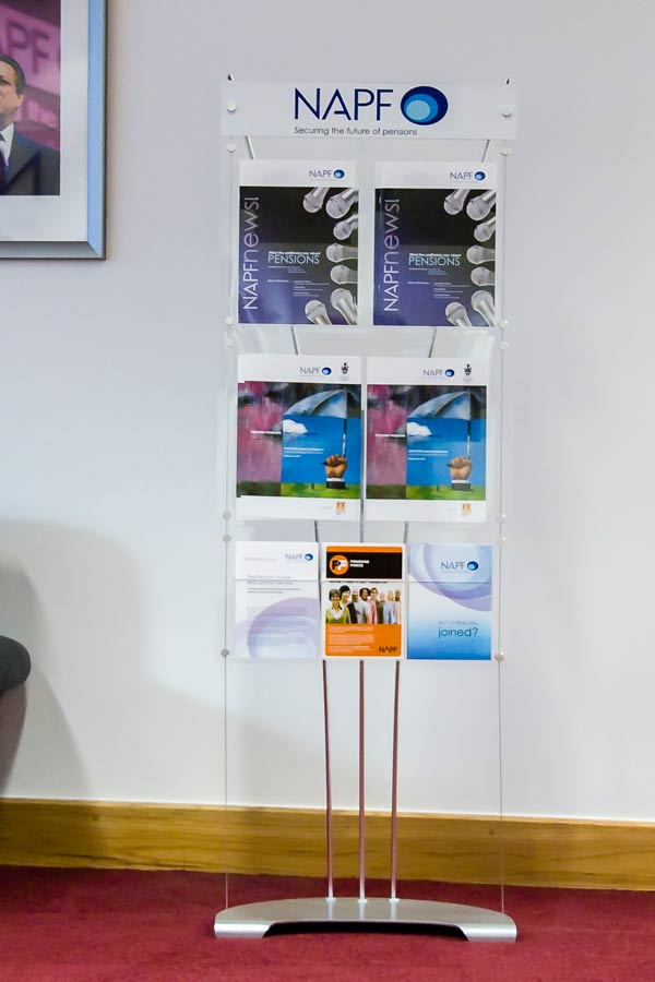 Leaflet Display Stands Acrylic Literature Displays