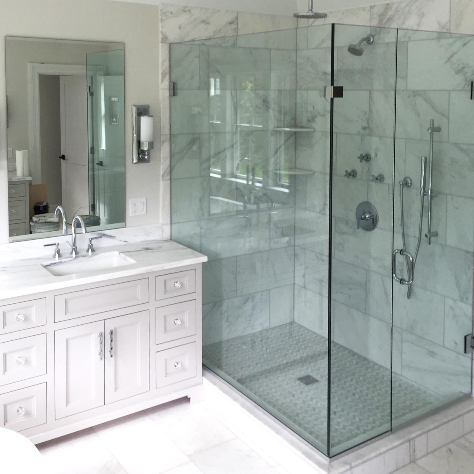 Frameless Shower Doors Dimensions In Glass