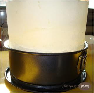 Bizcocho tipo MSC {Madeira Sponge Cake}