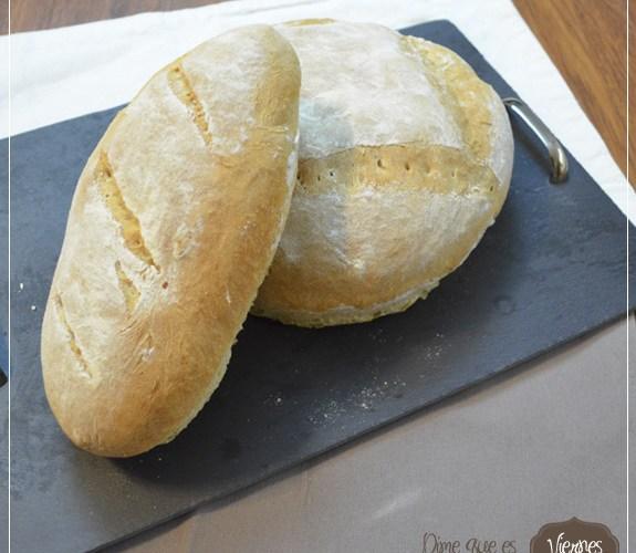Pan basico, con masa madre acida