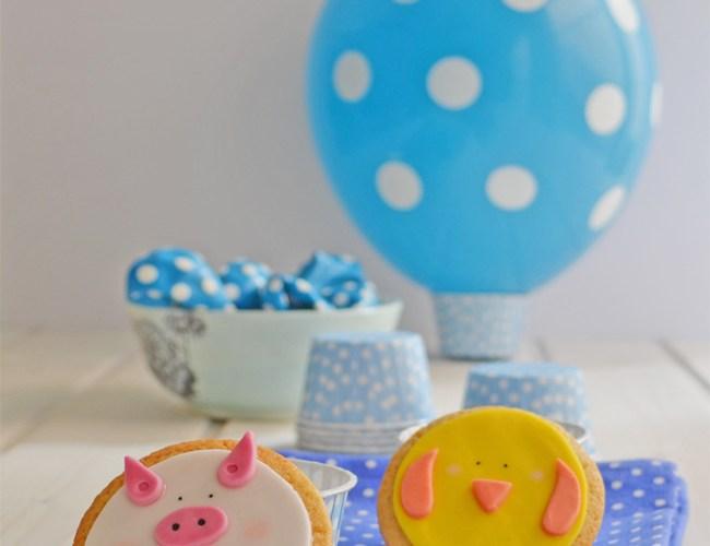 Galletas para fiesta de cumpleaños