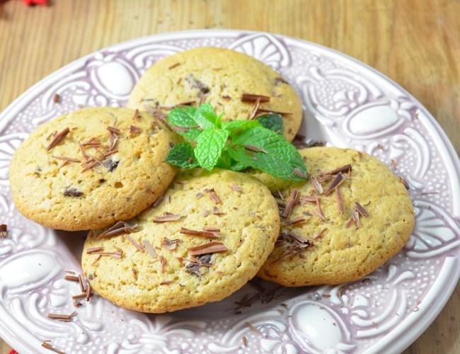 Cookies de chocolate de menta: la receta secreta –  Calendario Gastronomico de Adviento