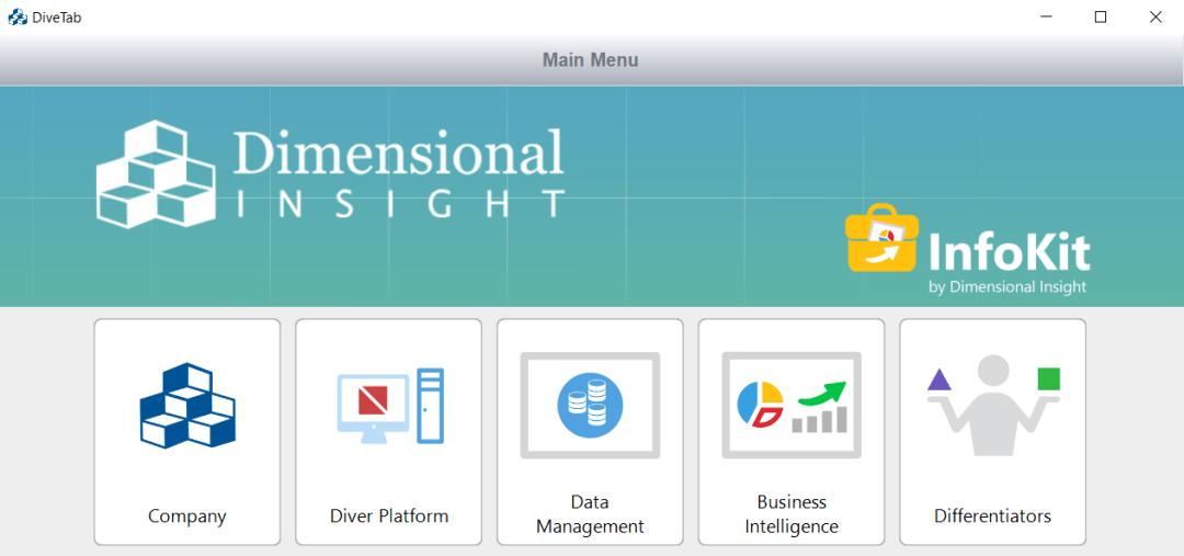 Infokit dashboard