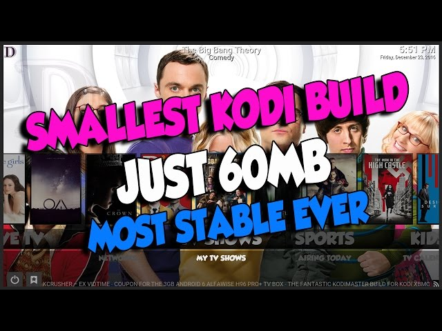 BOOM SHAKALAKA BASE FOR KODI 16 & KODI 17 WITH WORKING