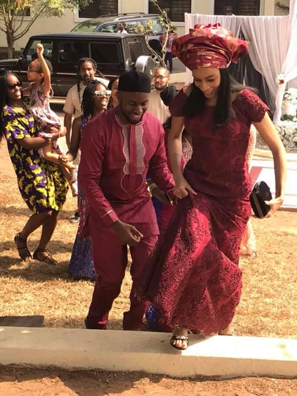 Okonjo Iweala's Son Weds Chinua Achebe's Grand-Daughter(Photos)