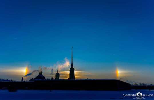 Фотографии гало, Петербург