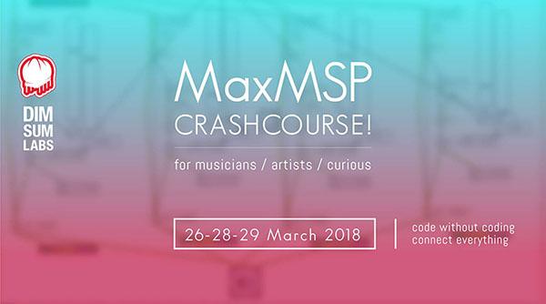 MaxMSP Crash Course
