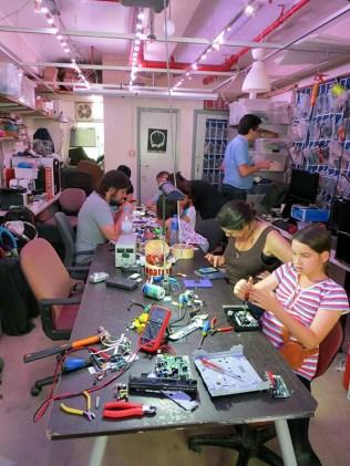 Take-Apart Day at Dim Sum Labs