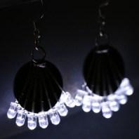 LED Earrings by Dim Sum Labs