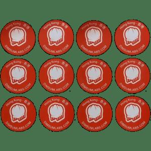 12 stickers