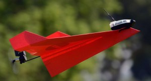 Powerup Smartphone Controlled Paper Airplane