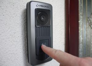 Wireless Intercom Doorbell; outdoor unit