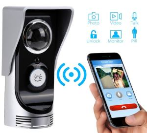 Wireless Intercom Doorbell; paired to smartphone