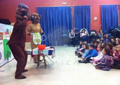 Disfraces teatro infantil actuación