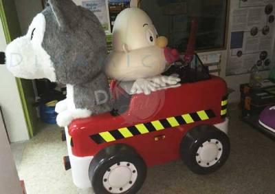 Muñecos carroza porexpan