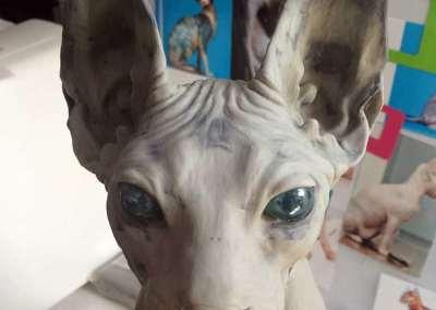 Escultura Hiperrealista Gato