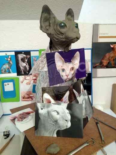escultura-hiperrealista-gato-5