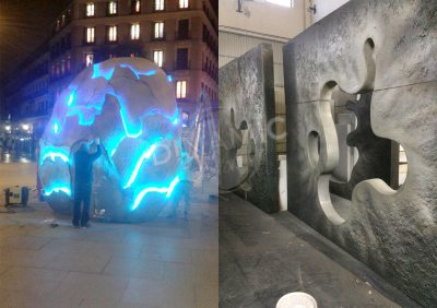 Escultura Publicitaria 2