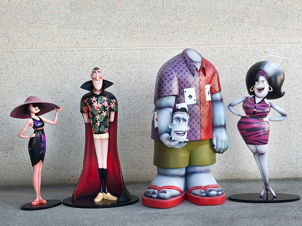 Esculturas porexpan tamaño real Transilvania 3