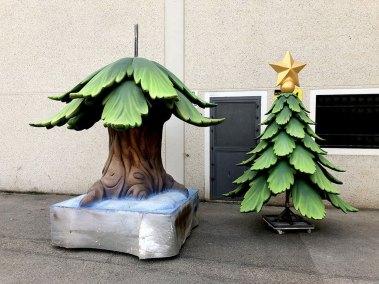 árbol para carroza navidad