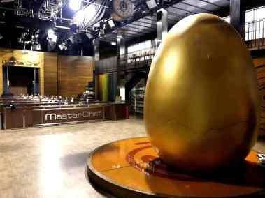 Detalle del huevo Master Chef Junior 2018